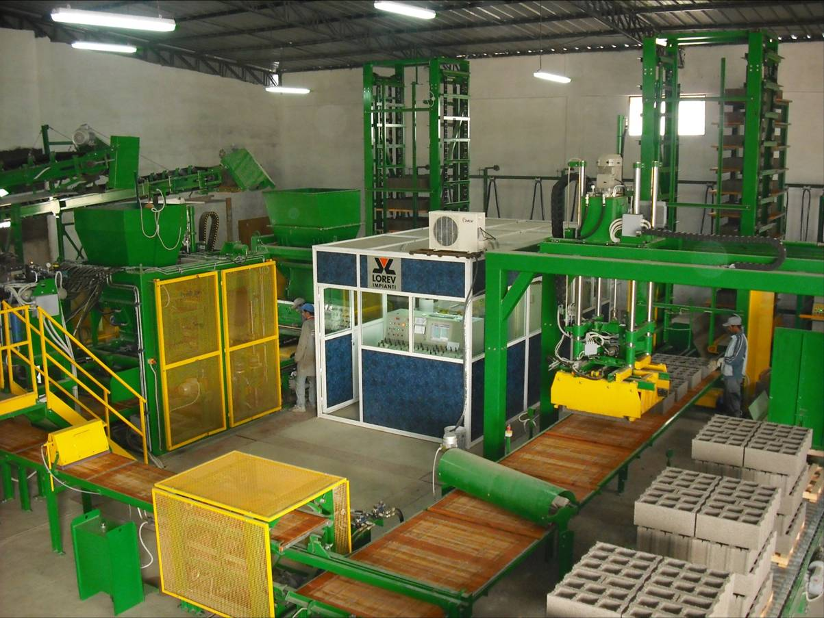 Concrete Block Machine System